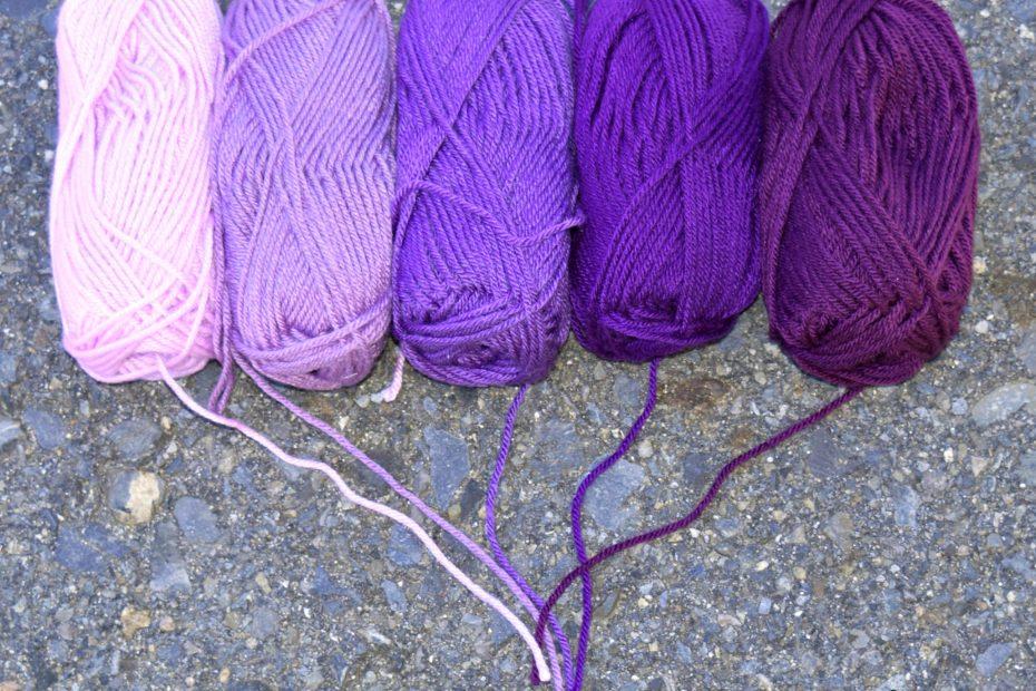Premier Gradient Yarn Violet