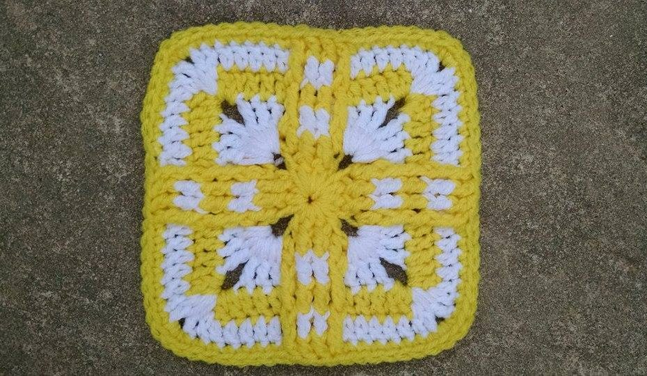 Native Sun Square Granny Square
