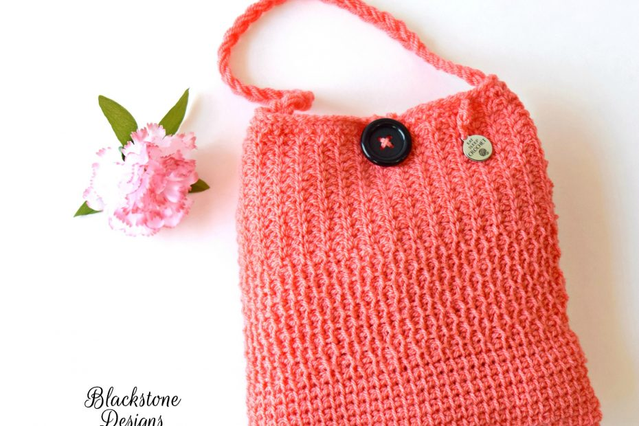 Tunisian Crochet Bag