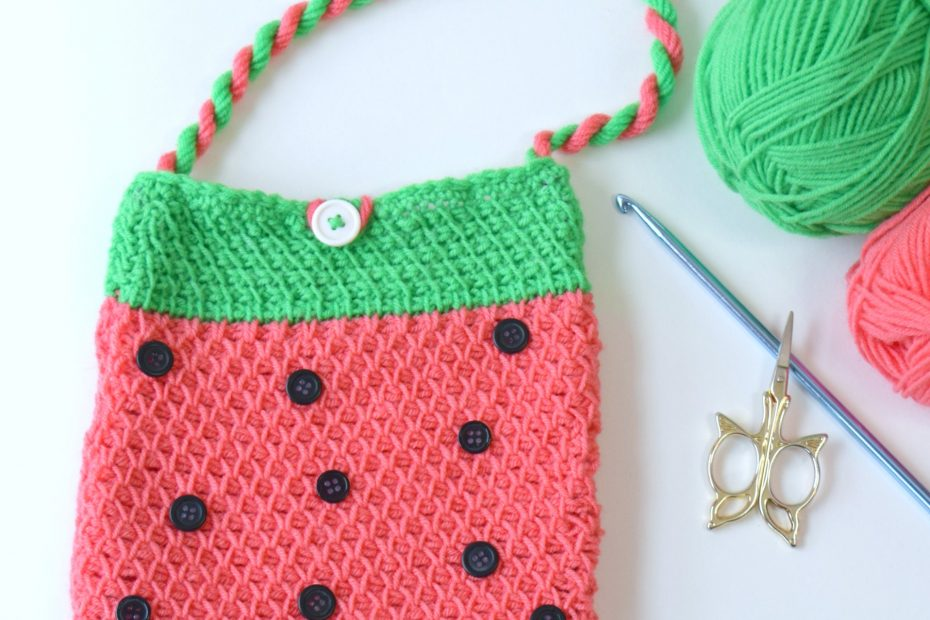 Watermelon Square Bag