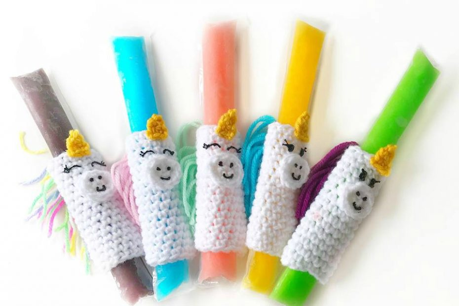 Crochet Popsicle Holders